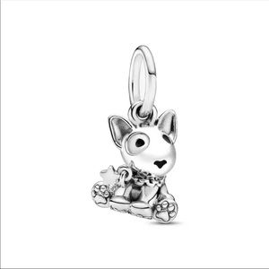 Authentic 925 Sterling Silver Charm Bead - Dog